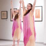 dancers at Maier Museum